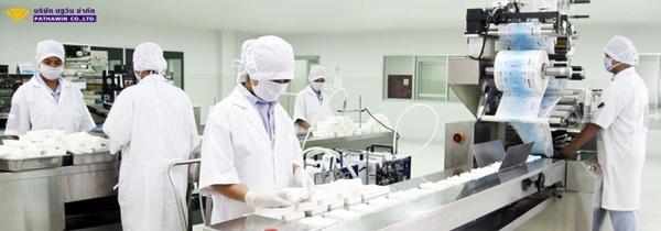 โรงงานรับผลิตครีมหน้าขาว